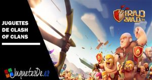 Juguetes de Clash of Clans